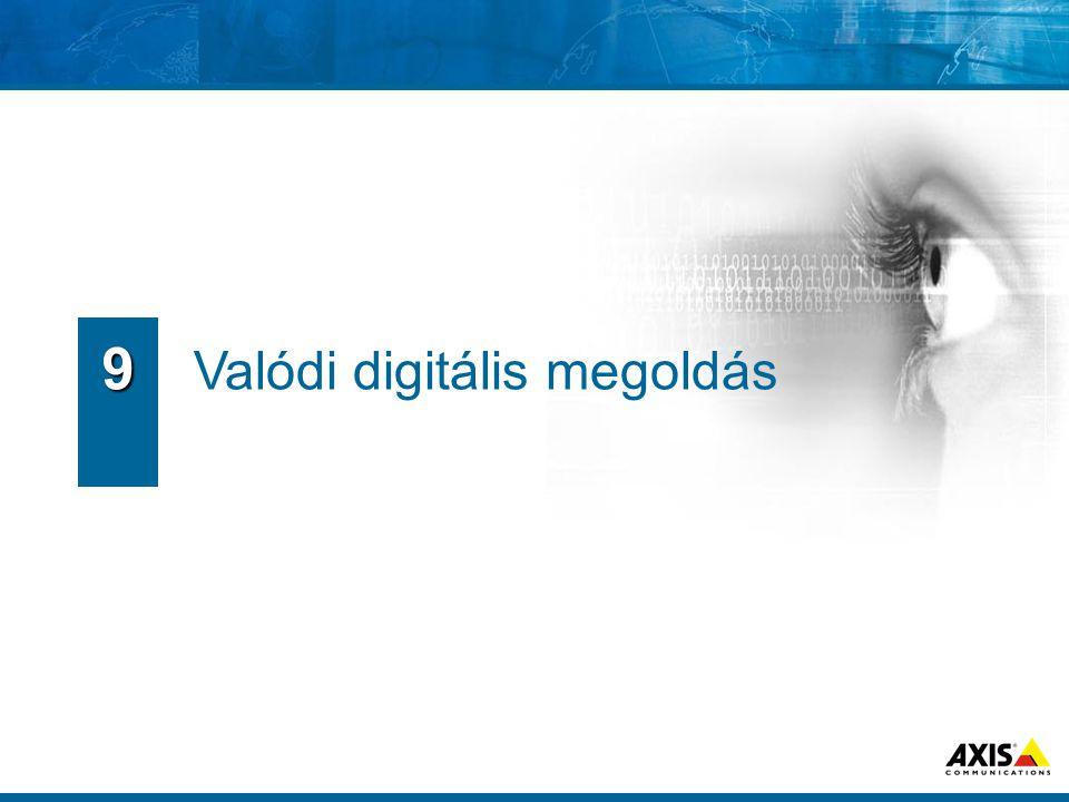 Valódi digitális megoldás 9
