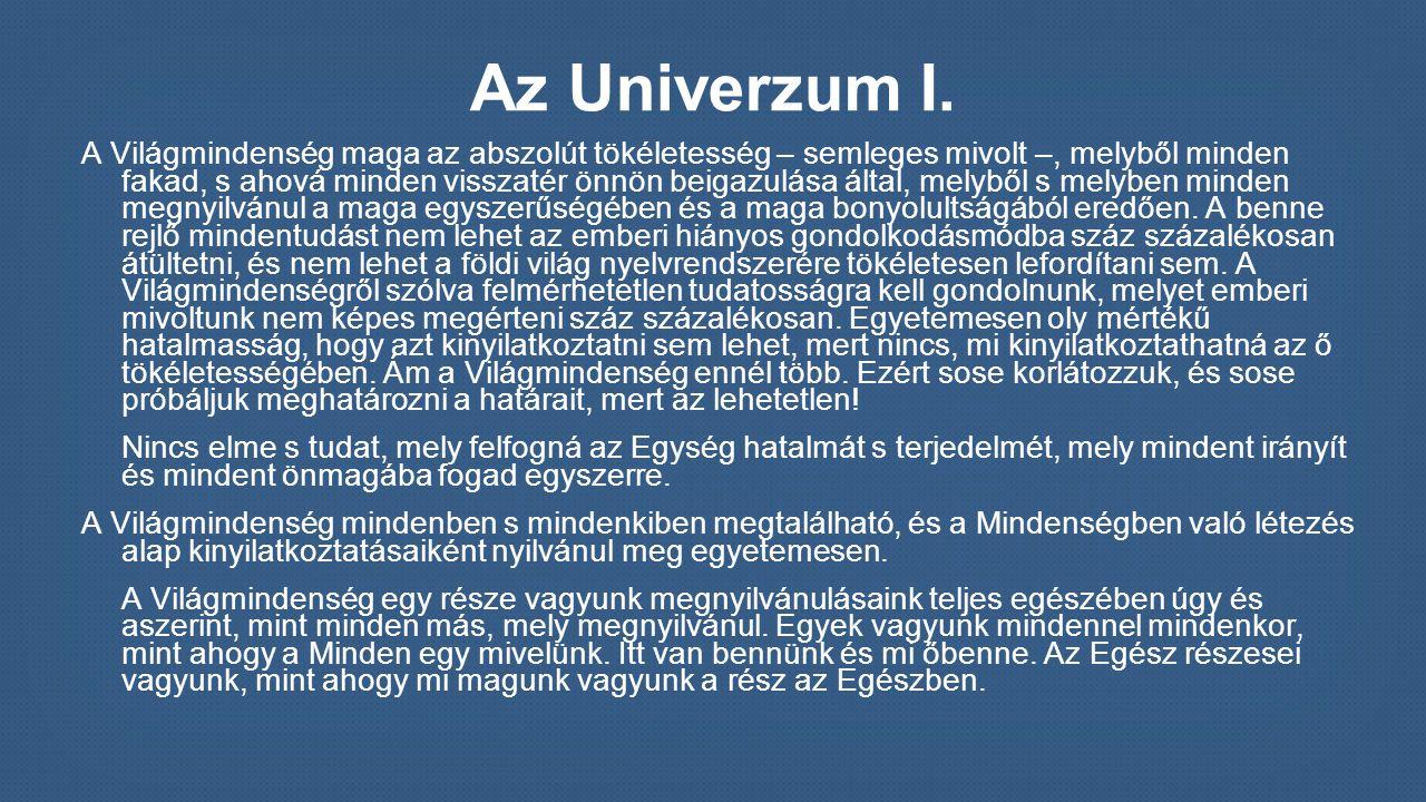 Az Univerzum II.