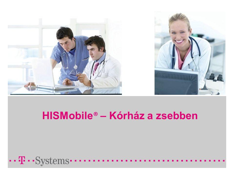 HISMobile ® – Kórház a zsebben