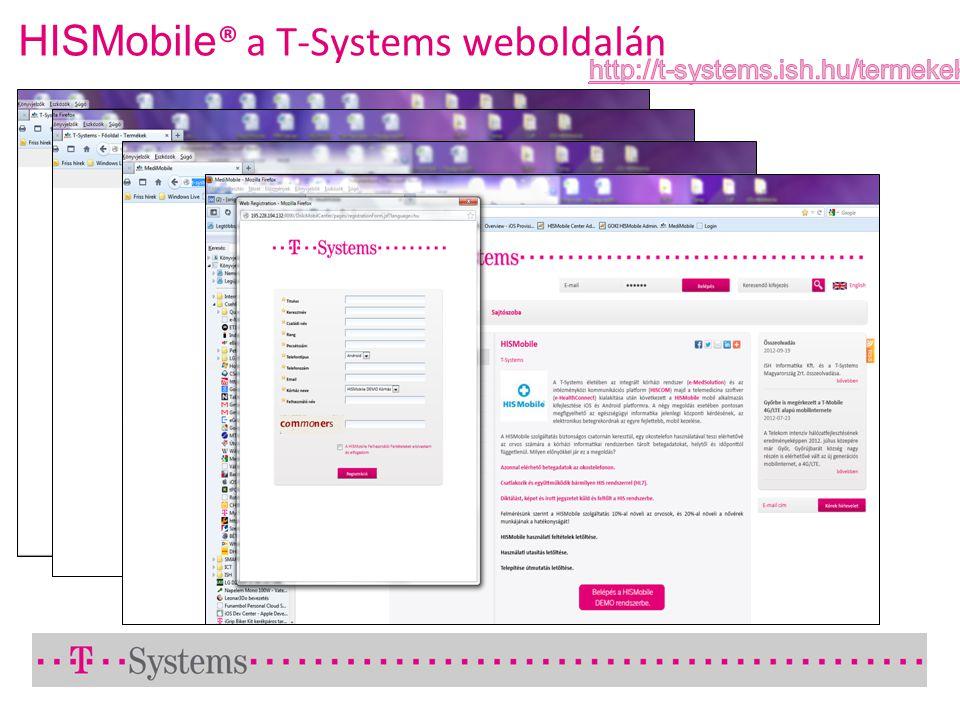 HISMobile ® a T-Systems weboldalán