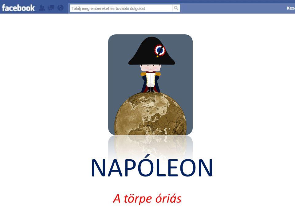 NAPÓLEON A törpe óriás Készítette: Patai Zoltán 2010.03.31.