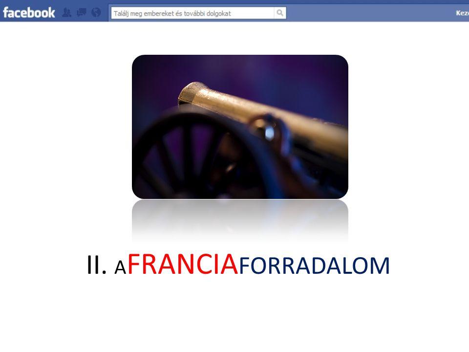 II. A FRANCIA FORRADALOM