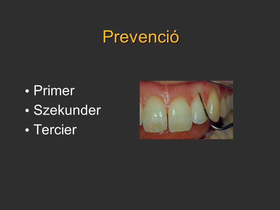 Prevenció • Primer • Szekunder • Tercier