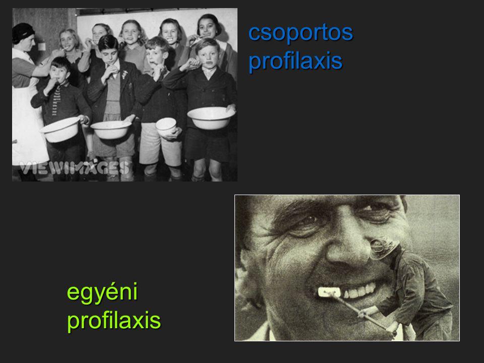 csoportos profilaxis egyéniprofilaxis