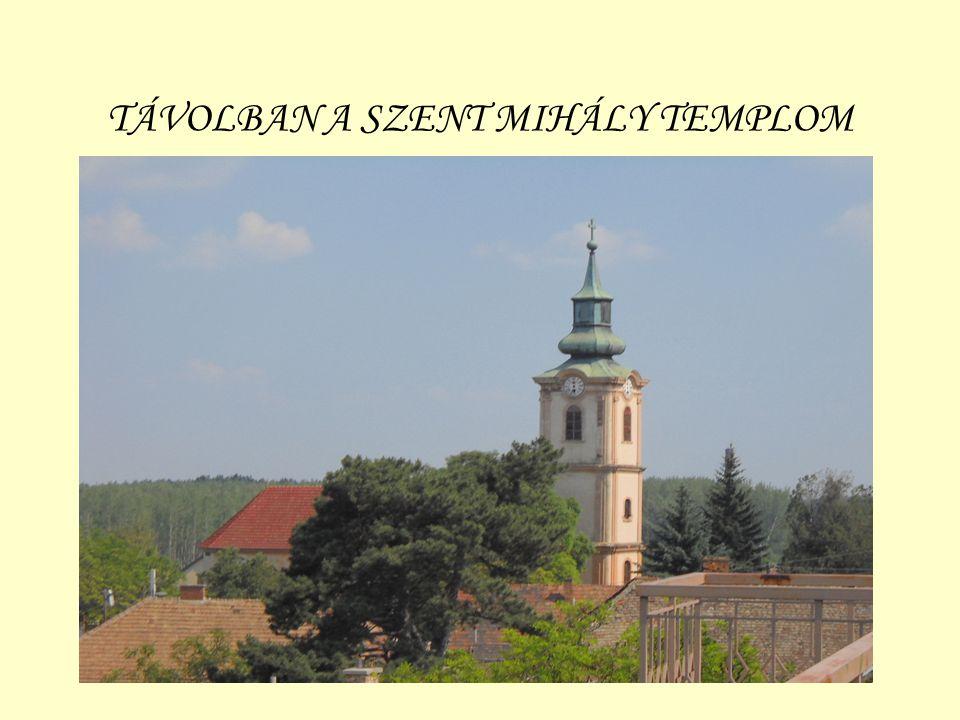 TÁVOLBAN A SZENT MIHÁLY TEMPLOM