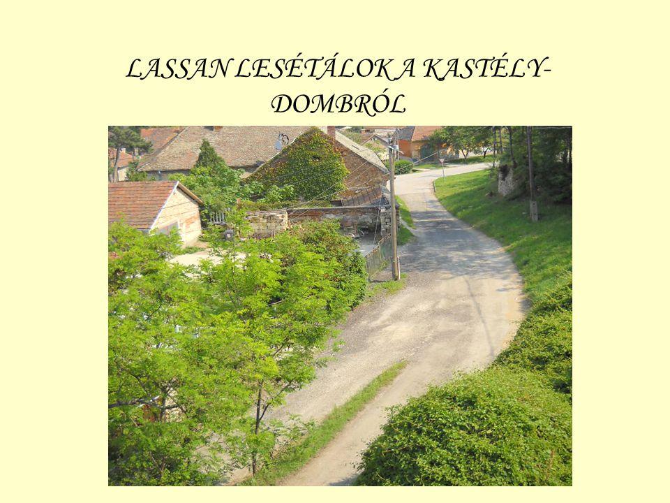 LASSAN LESÉTÁLOK A KASTÉLY- DOMBRÓL