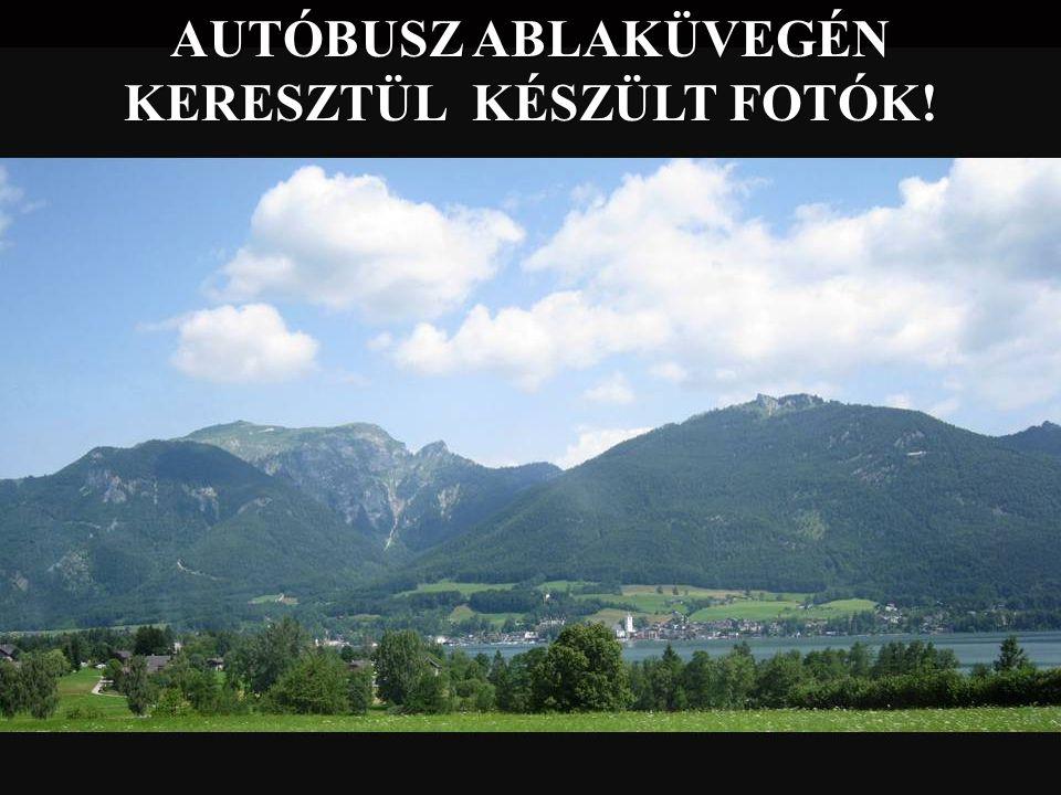 AUTÓBUSZ ABLAKÜVEGÉN KERESZTÜL KÉSZÜLT FOTÓK!