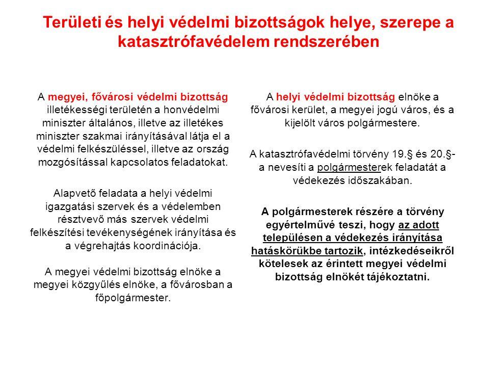 Az ágazati minisztérium helye, szerepe a katasztrófavédekezés irányításában A vízgazdálkodási törvény 17.