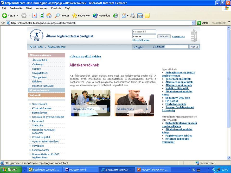 Észak-alföldi Regionális Munkaügyi Központ Szolnoki Kirendeltség és Szolgáltató Központ