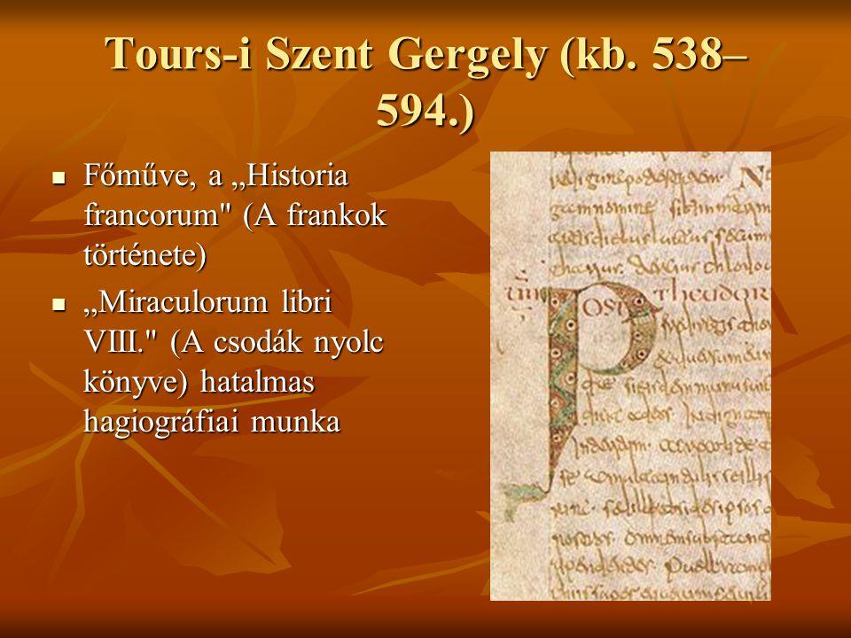 Tours-i Szent Gergely (kb.