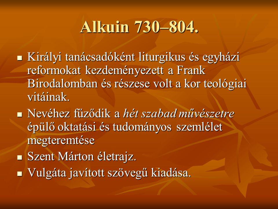 Alkuin 730–804.