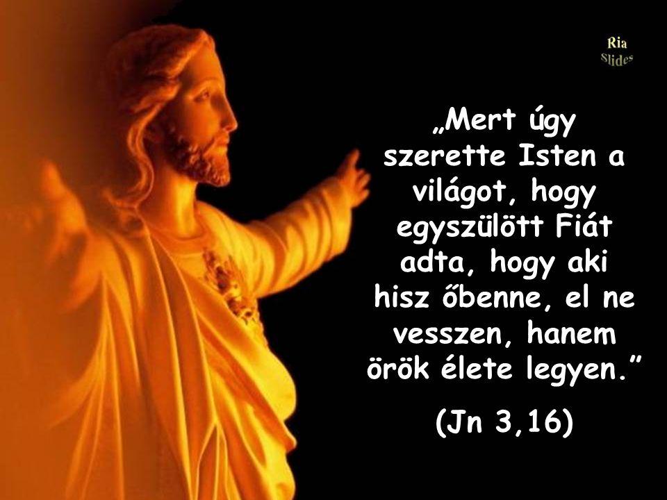 JÉZUS KRISZTUS meghalt és feltámadott érted..