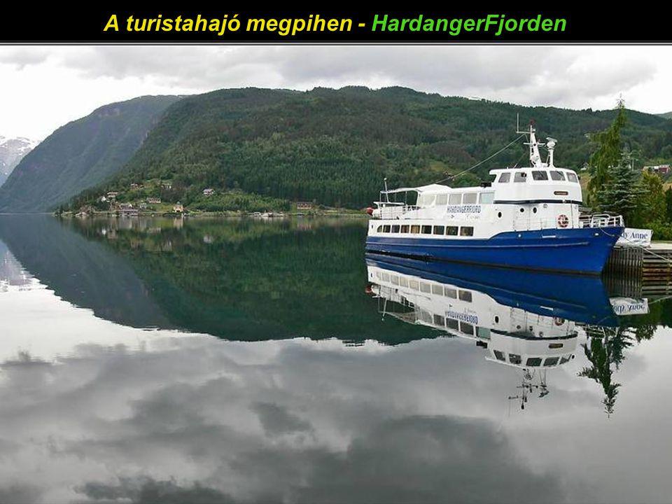 Bergen város szép utcái – út Ulriken felé