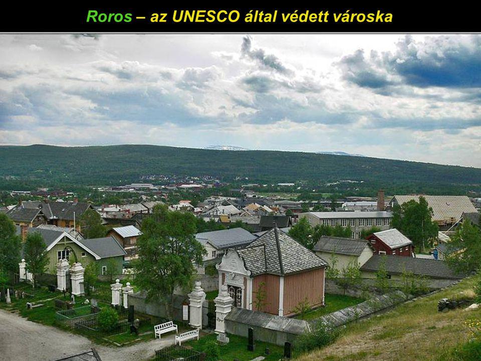 Roros – az UNESCO által védett városka
