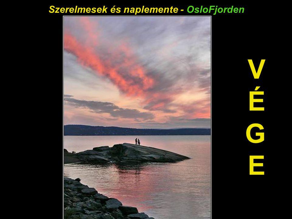 Éjféli napsütés - OsloFjorden
