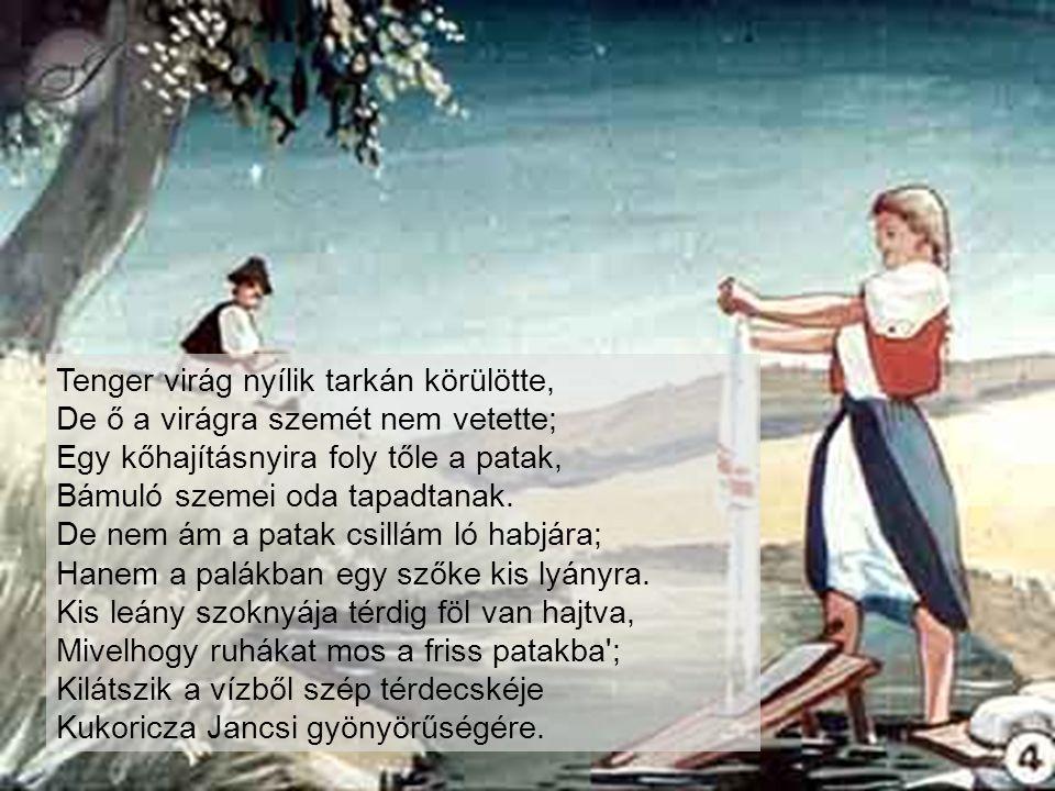 És az óriások elszomorodának Keserves halálán a szegény királynak, S szomorúságokban elfakadtak sírva...