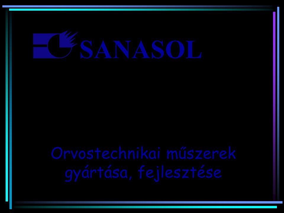 SANASOL Orvostechnikai műszerek gyártása, fejlesztése …