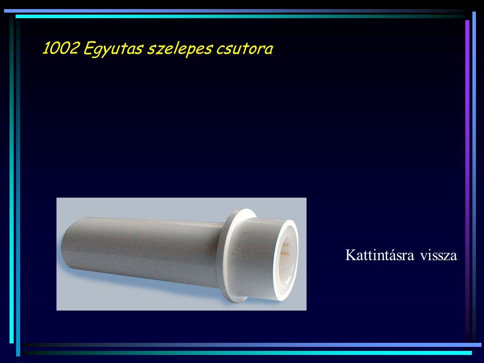 1002 Egyutas szelepes csutora Kattintásra vissza