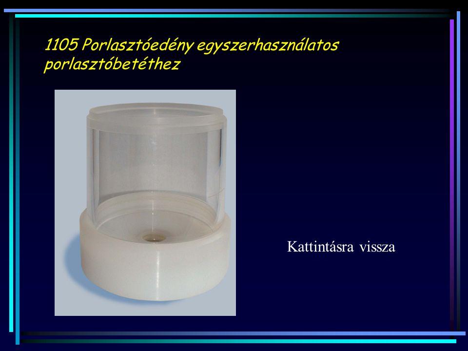 1105 Porlasztóedény egyszerhasználatos porlasztóbetéthez Kattintásra vissza
