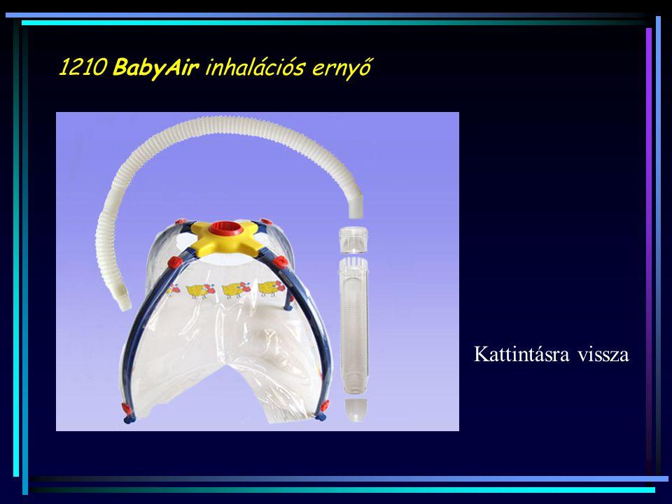 1210 BabyAir inhalációs ernyő Kattintásra vissza