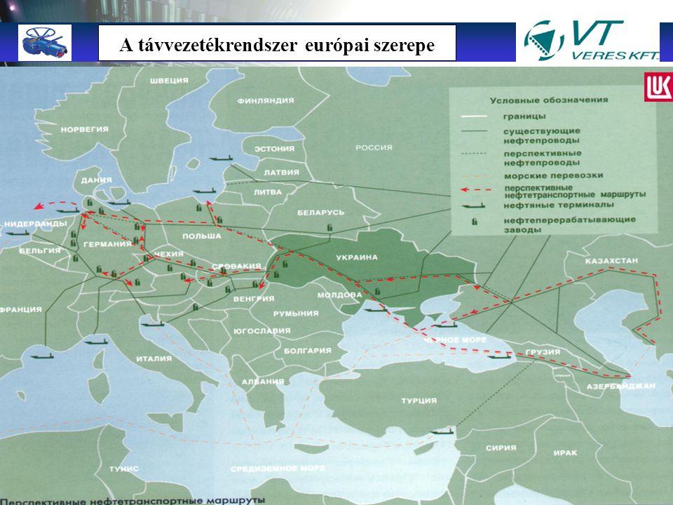"""TMTM """"A Jövő megoldásai a jelenben"""" Ukrán kőolaj távvezeték rendszer – Névleges átmérő: 200-1200 mm – Távvezeték hossz: 4568 km (18 csővezeték) – Szál"""