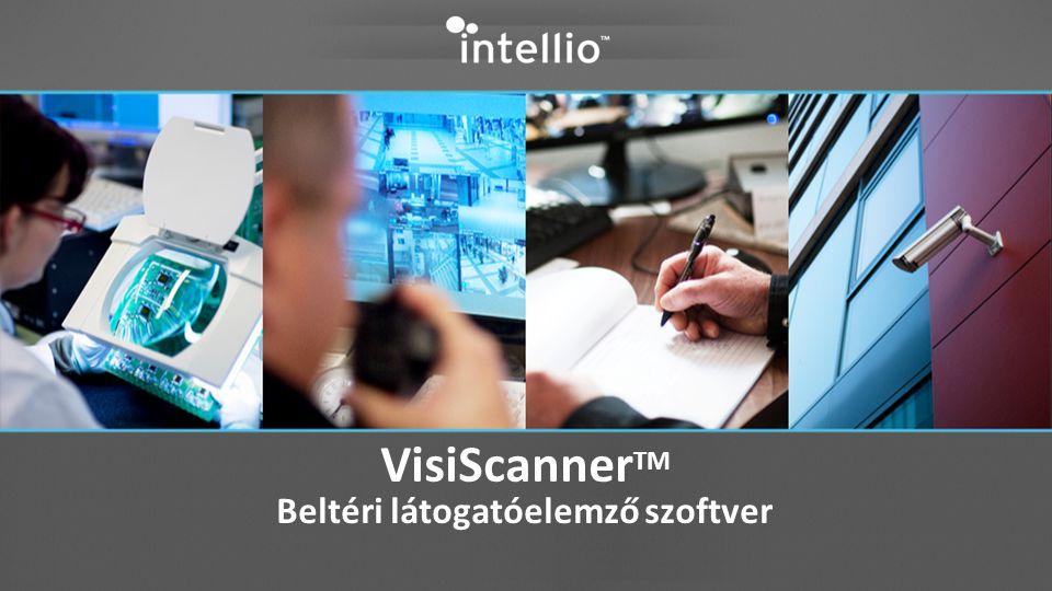 VisiScanner TM Beltéri látogatóelemző szoftver