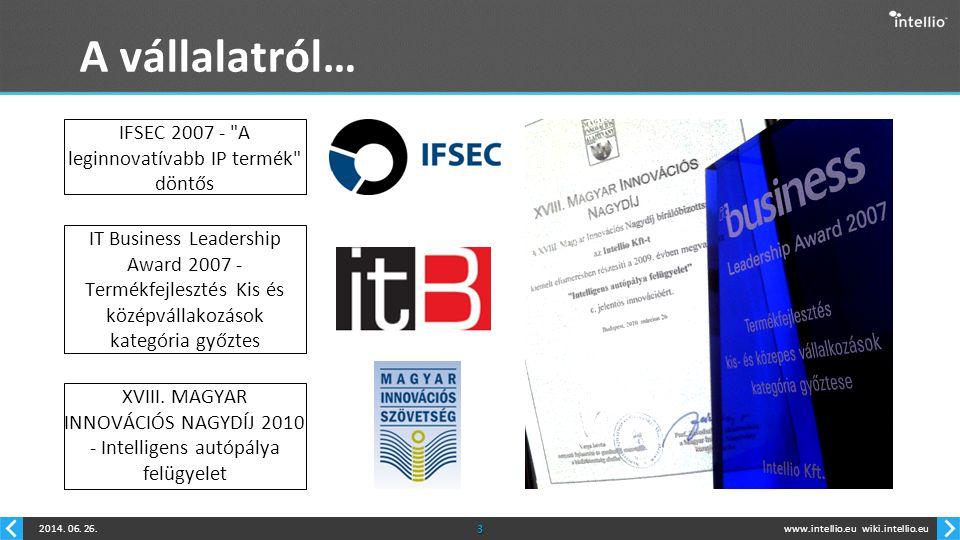 www.intellio.euwiki.intellio.eu2014.06. 26.14 VisiScanner TM Köszönöm a figyelmet.