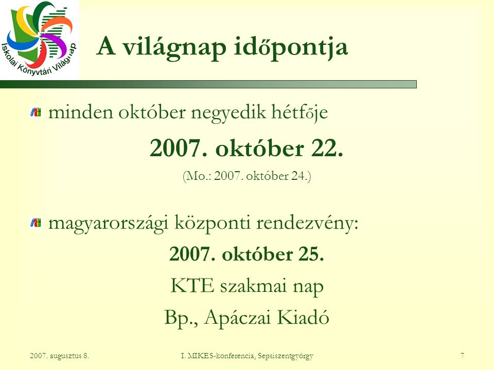 Csatlakozzanak Önök is! http://www.ktep.hu/vilagnap domsody.andrea@opkm.hu sb.ibolya@gmail.com
