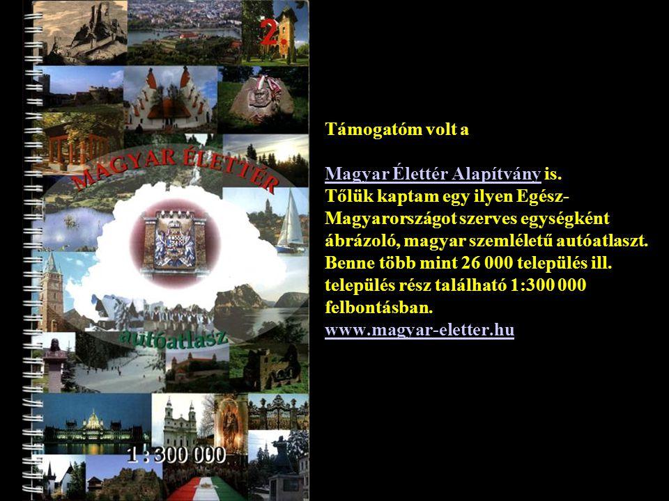 Szponzorom, Sarusi-Kiss István, az Univega Magyarország első embere www.univega.hu Tőlük kaptam ezt a kerépárt, amellyel a zarándoklatot végigkerekeztem, 2007.