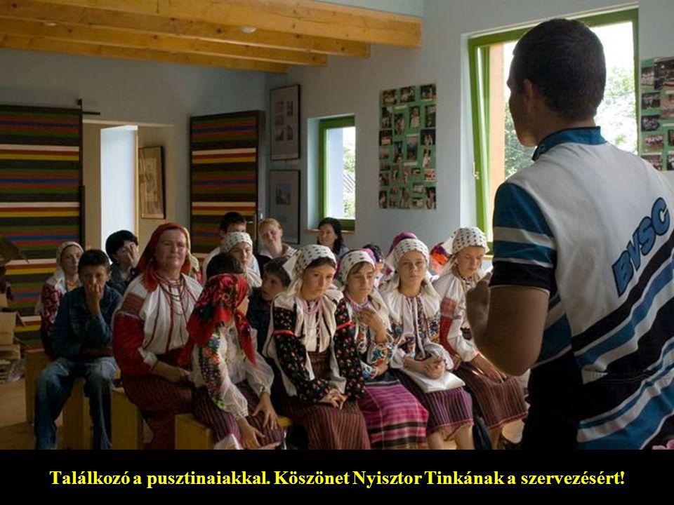 Pusztinai fogadtatás – mintha Székelyföldön járnánk