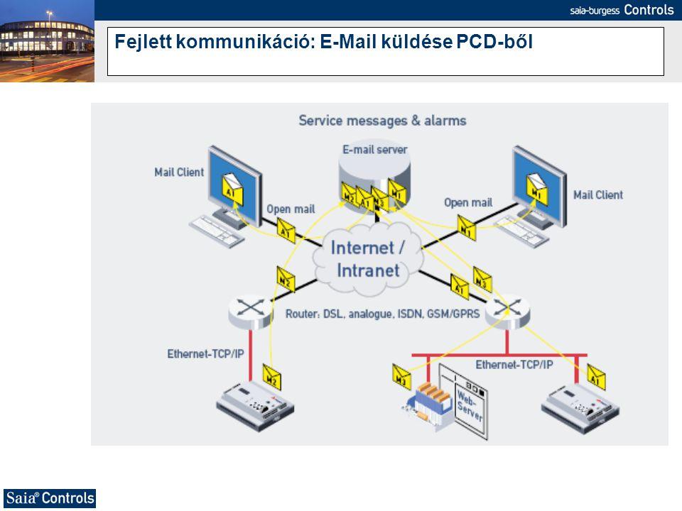 Fejlett kommunikáció: E-Mail küldése PCD-ből