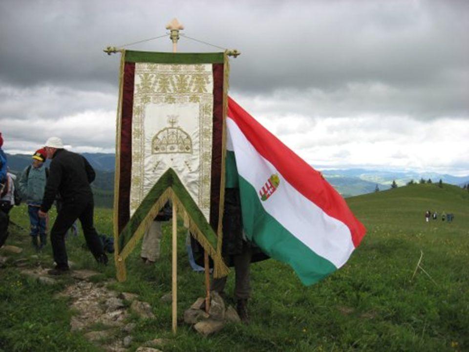 Pünkösd hétfő zászlószentelés