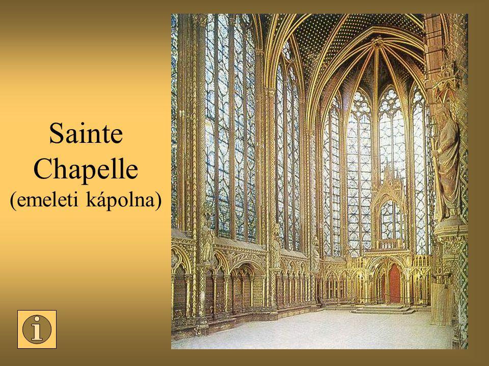 Sainte Chapelle (emeleti kápolna)