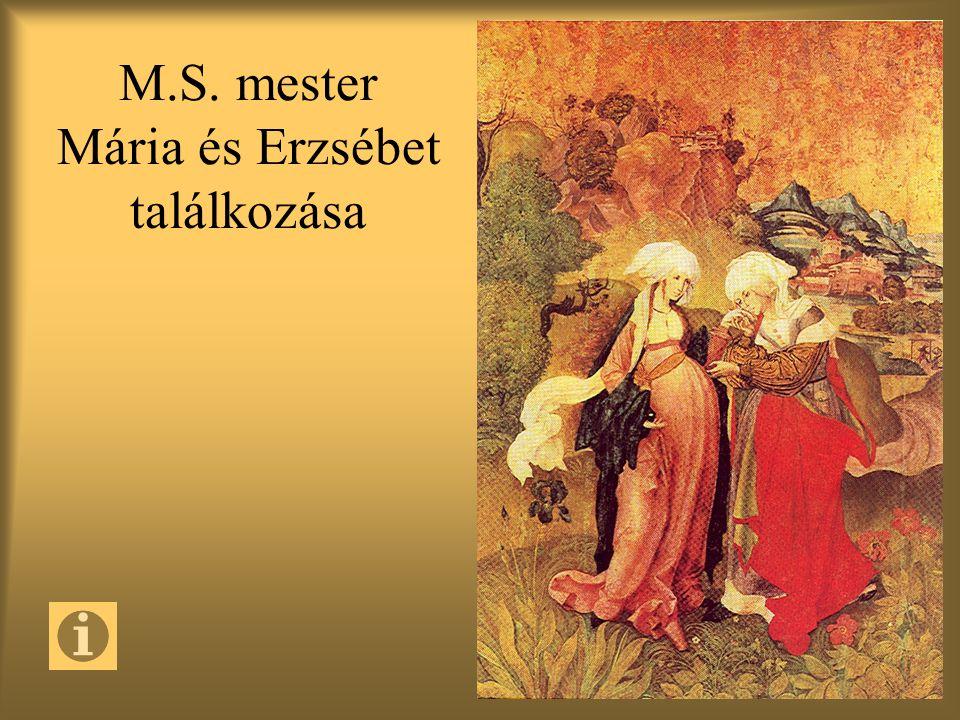 M.S. mester Mária és Erzsébet találkozása