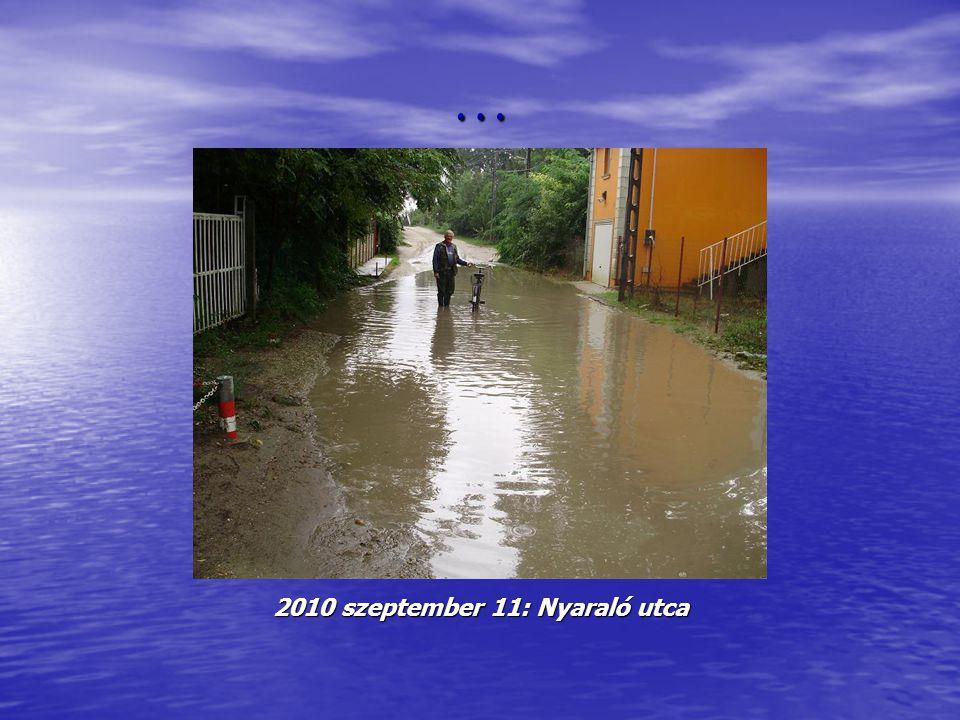 … 2010 szeptember 11: Nyaraló utca