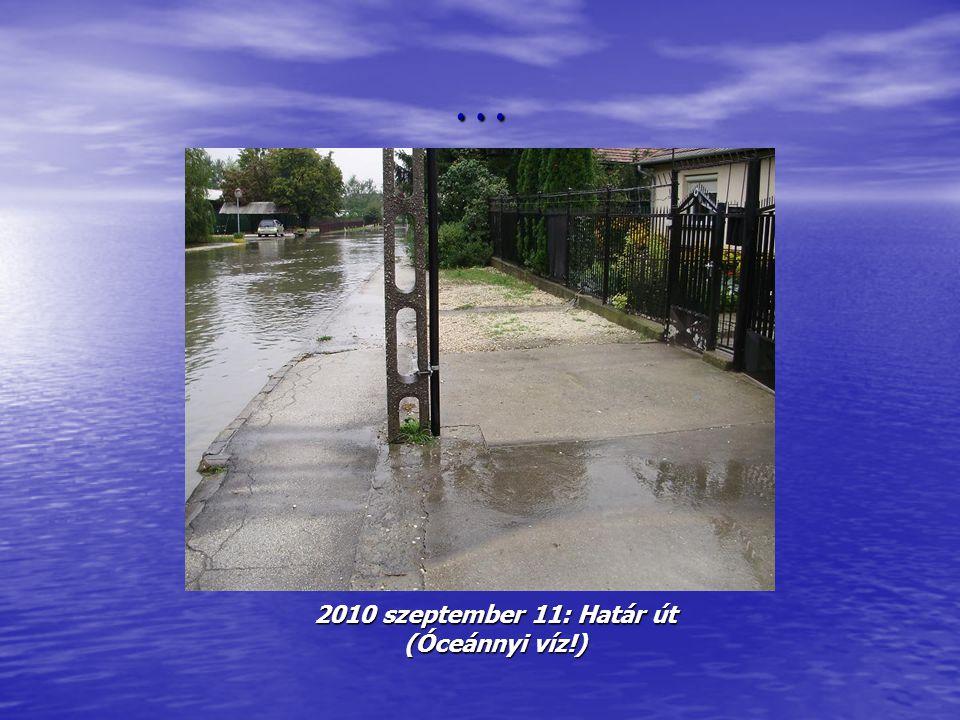 … 2010 szeptember 11: Árnyas utca – Bóbitás utca kereszteződés ( 20 cm )