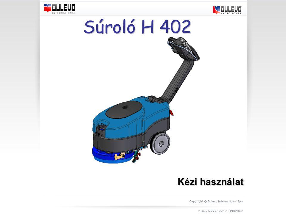 Súroló H 402 Kézi használat