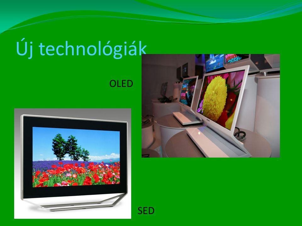 Új technológiák SED OLED