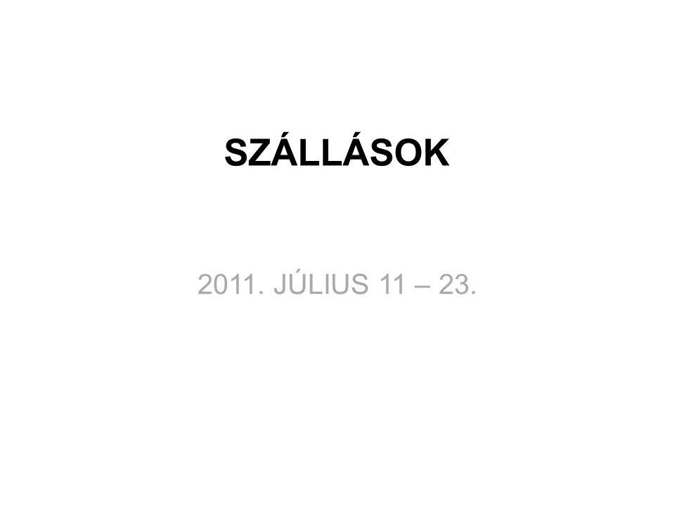 ORVOSI VIZSGÁLAT • Kőrösi Csoma Sándor Általános Iskola • 2011.