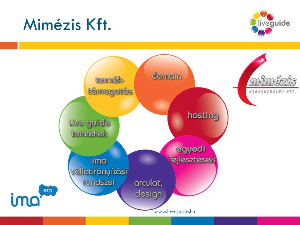 Mimézis Kft. www.liveguide.hu