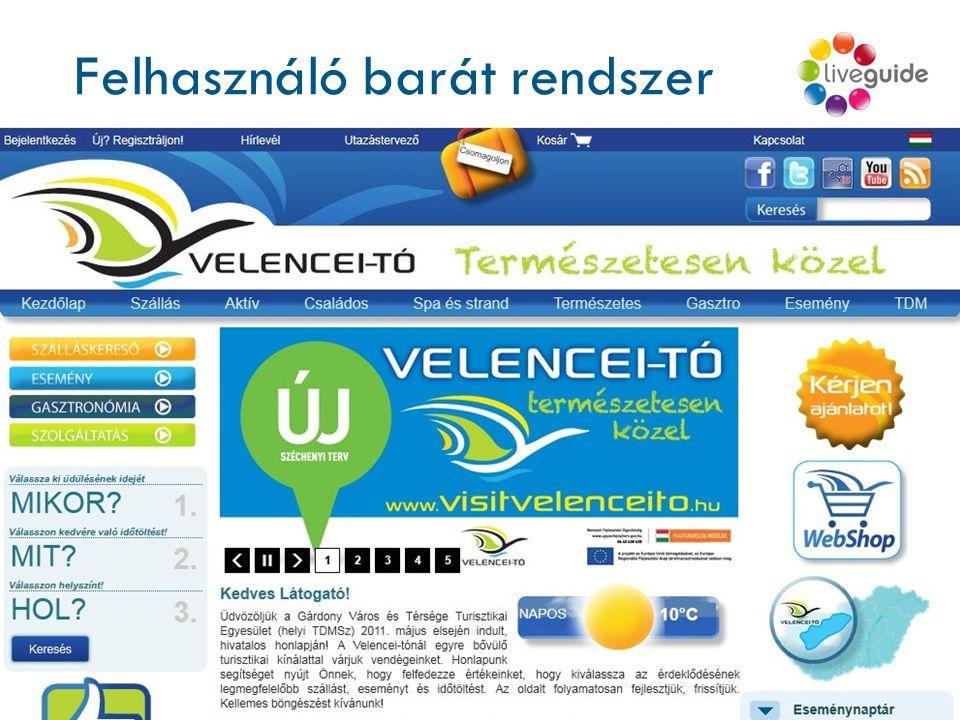 Felhasználó barát rendszer www.liveguide.hu a v i l á g k a r n y ú j t á s n y i r a v a n … 224 órán keresztül elérhető, platform független virtuá
