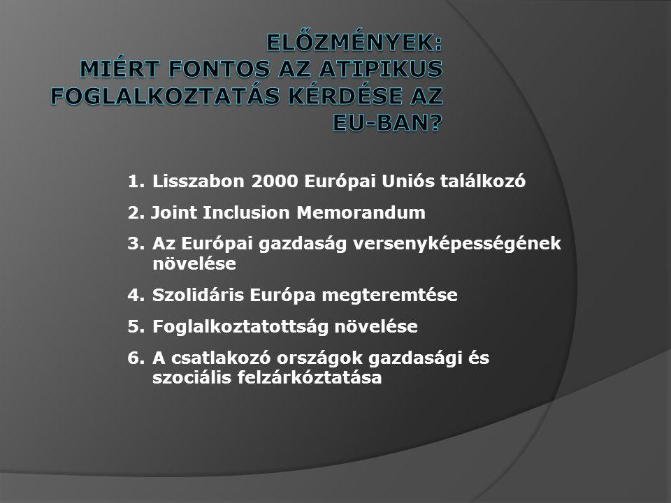 1.Lisszabon 2000 Európai Uniós találkozó 2.