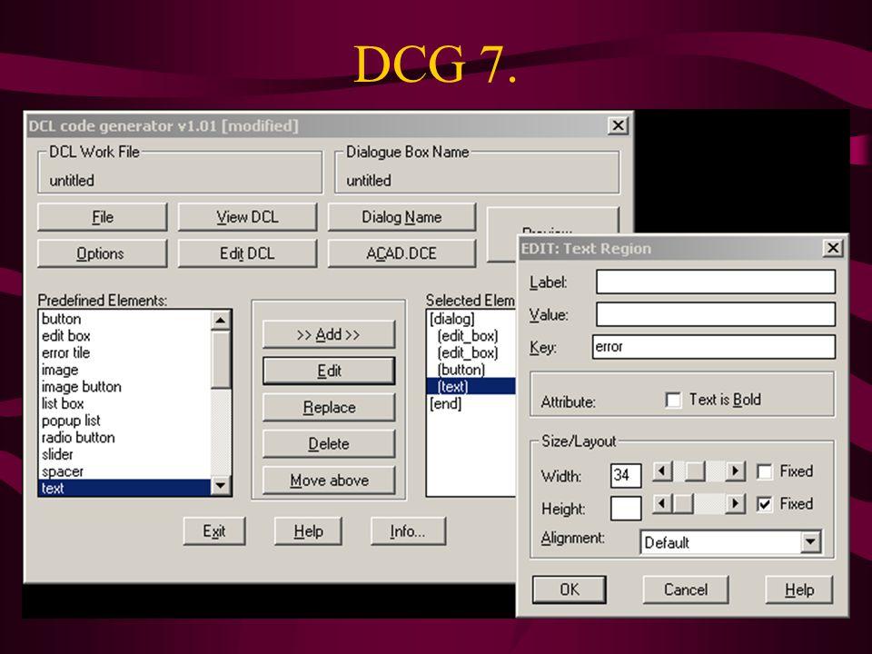 DCG 7.