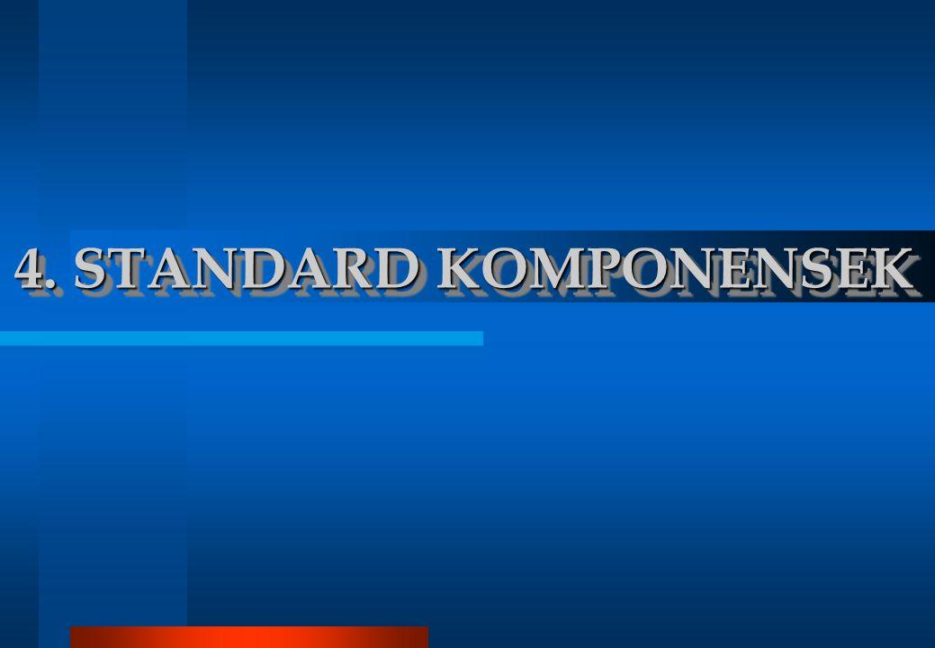 4. STANDARD KOMPONENSEK