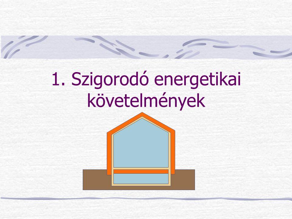 Mesterséges szellőzés Alacsony energiafelhasználású épületekben, passzívházakban hővisszanyerős kiegyenlített szellőzés Azt hihetnénk nincs filtráció Elszívás: konyha, fürdő, WC  depresszió  infiltráció Befúvás: nappali, háló  túlnyomás  exfiltráció Kisebb átöblítés a lakáson, hővisszanyerőn kevesebb szellőző levegő megy keresztül  visszanyert hő kevesebb