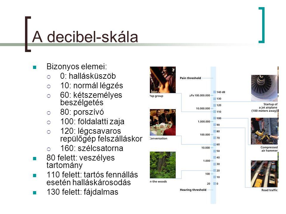 A pályák feladata  A különböző pályák más – más információt dolgoznak fel  A; hanglokalizáció: honnan jön a hang.