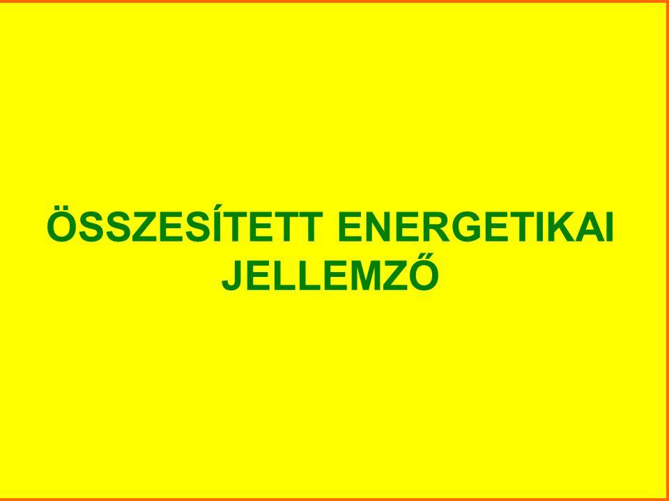 ÖSSZESÍTETT ENERGETIKAI JELLEMZŐ
