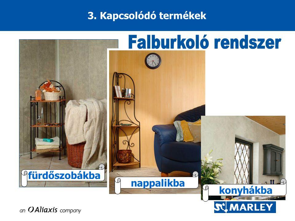 3. Kapcsolódó termékek fürdőszobákba nappalikba konyhákba