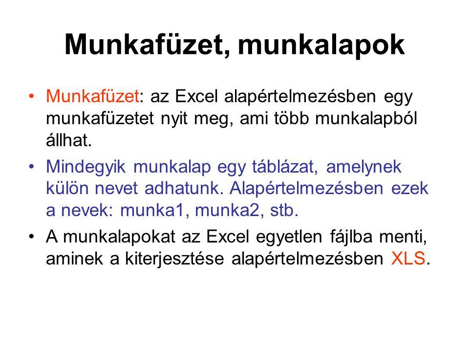 •Beolvasás után Fájl menü Mentés másként parancsával Microsoft Excel munkafüzet formátumban elmenteni!
