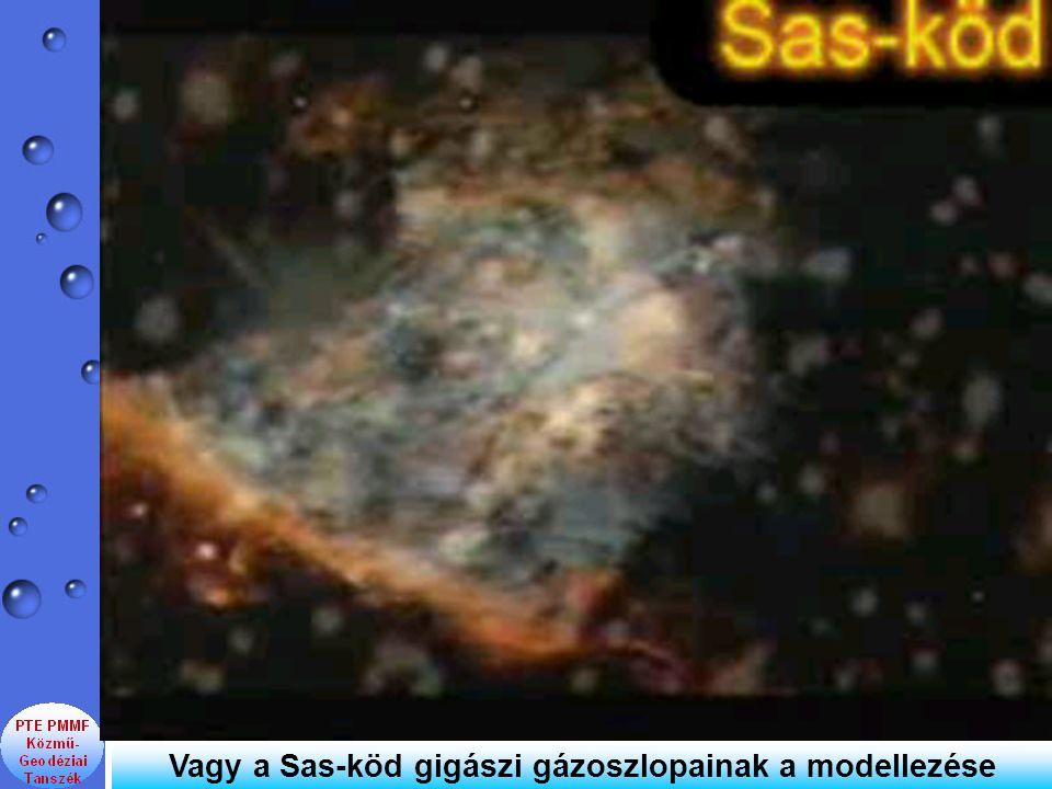 Vagy a Sas-köd gigászi gázoszlopainak a modellezése